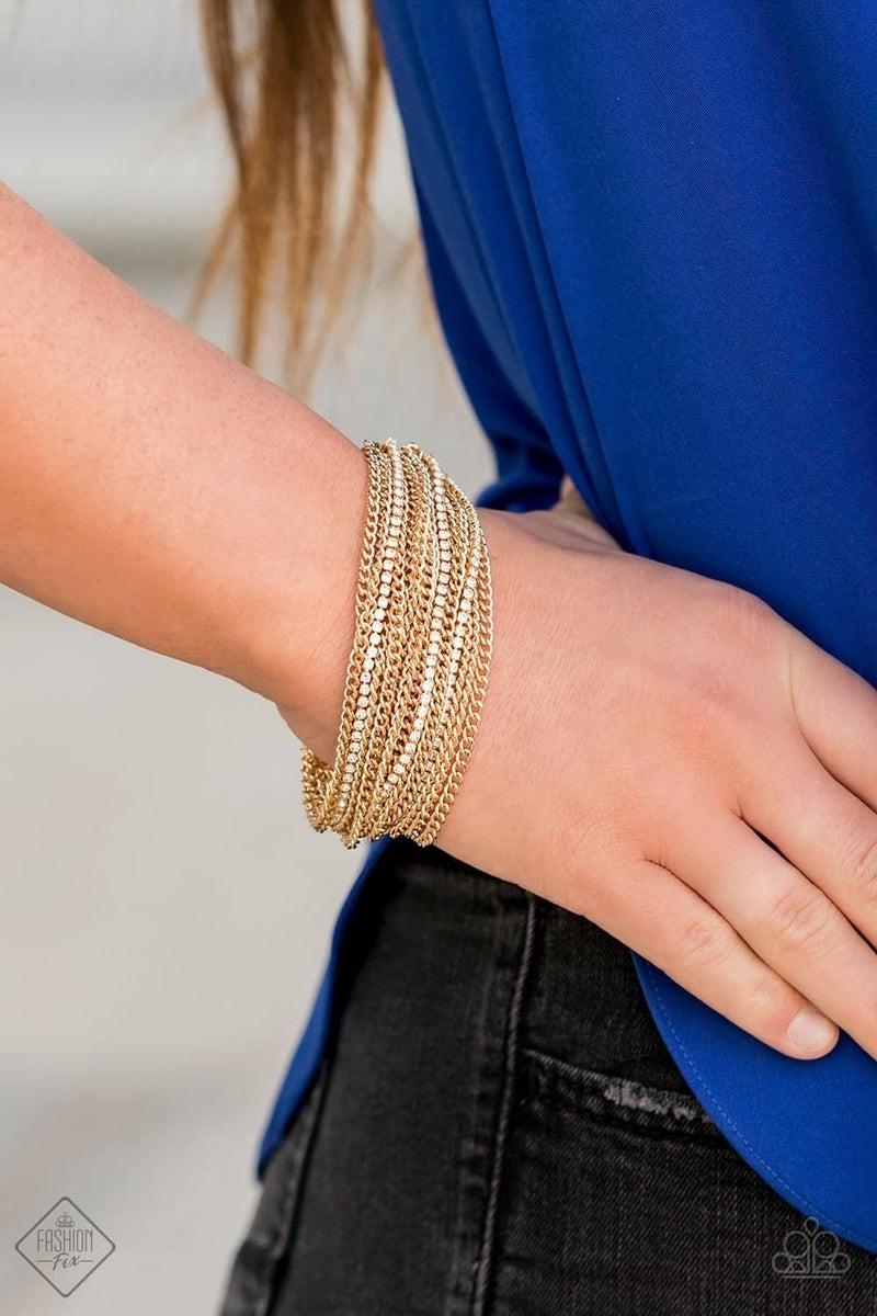 Pour Me Another - Gold Bracelet