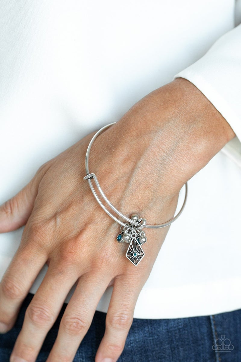 Treasure Charms - Blue bracelet
