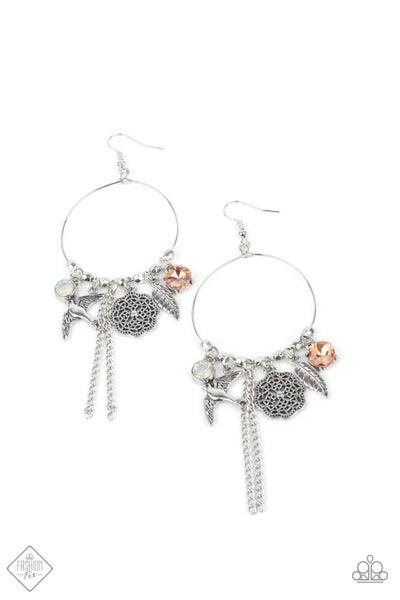 TWEET Dreams - White Earrings