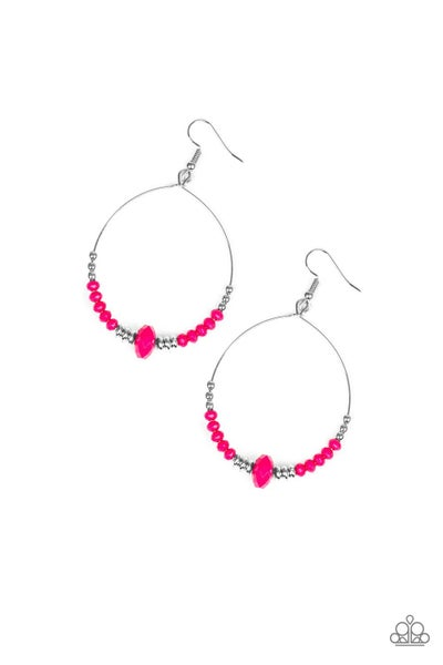 Retro Rural - Pink Earrings