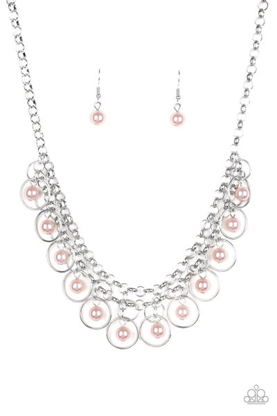 Party Time - Pink Necklace