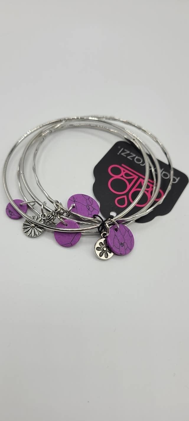 Prairie Plains - Purple Bracelet