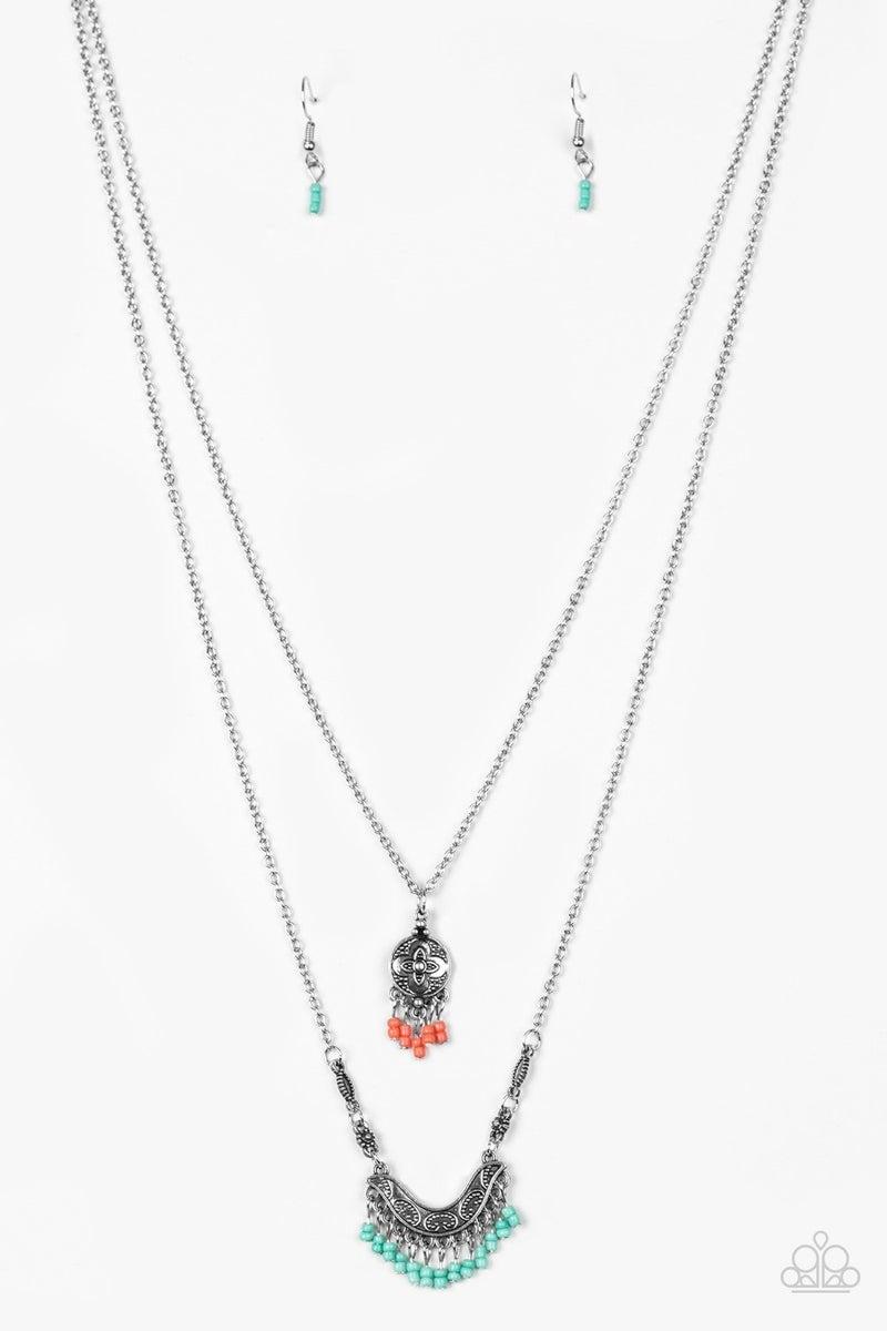 Bohemian Belle - Multi necklace