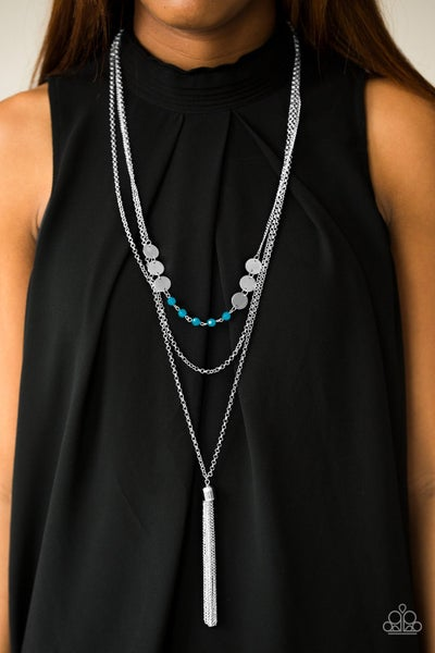 Celebration of Chic - Blue Necklace