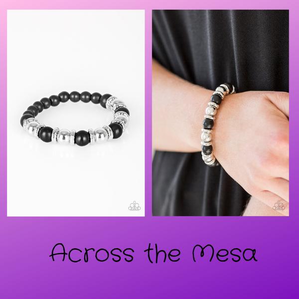 Across The Mesa - Black Bracelet
