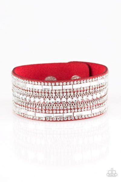 Rebel Radiance - Red Bracelet