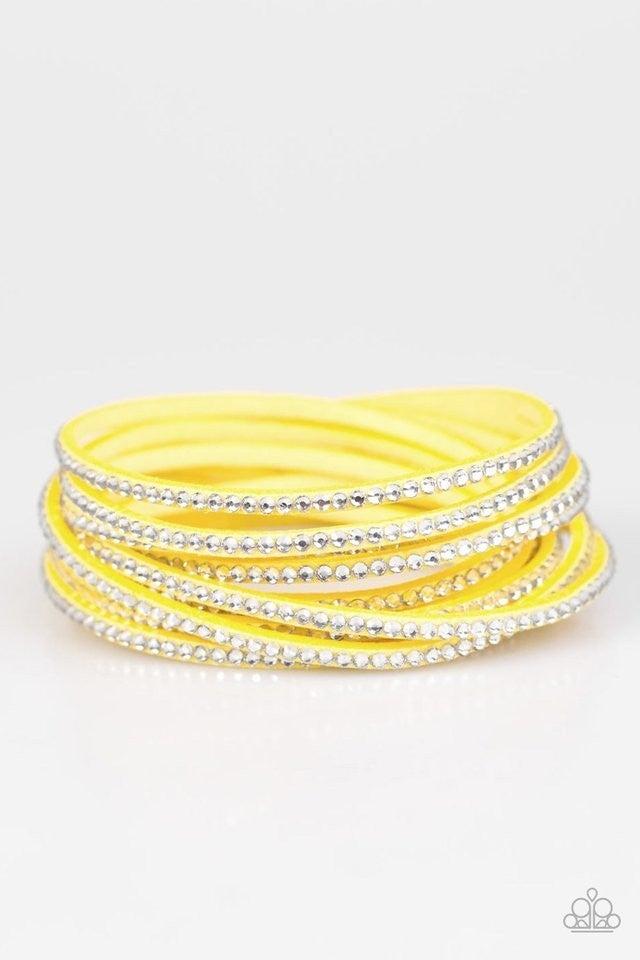 Do The Hustle - Yellow bracelet