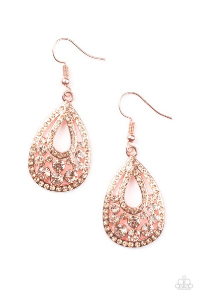 Sparkling Stardom - Copper Earring