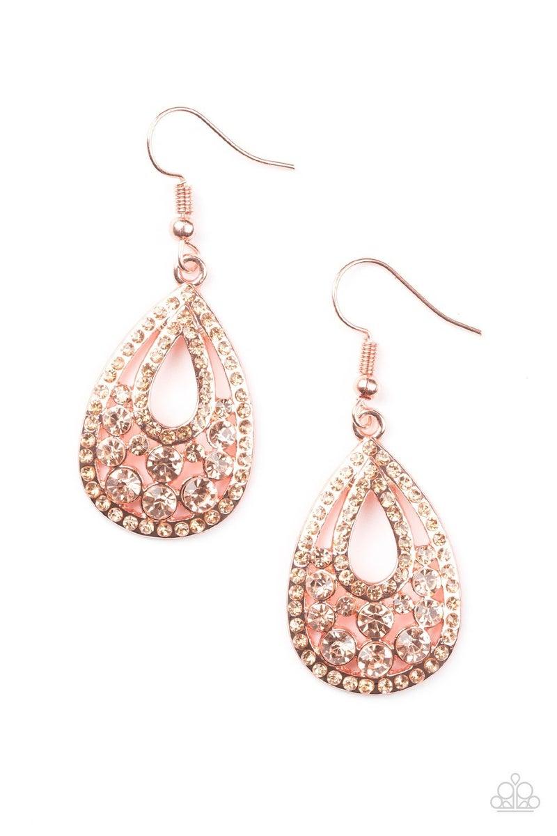 Sparkling Stardom - Copper Earring