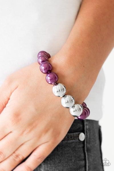All Dressed UPTOWN - Purple Bracelet