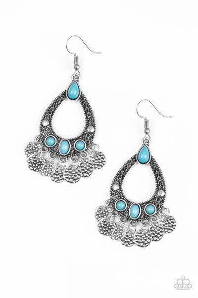 Island Escapade - Blue Earring