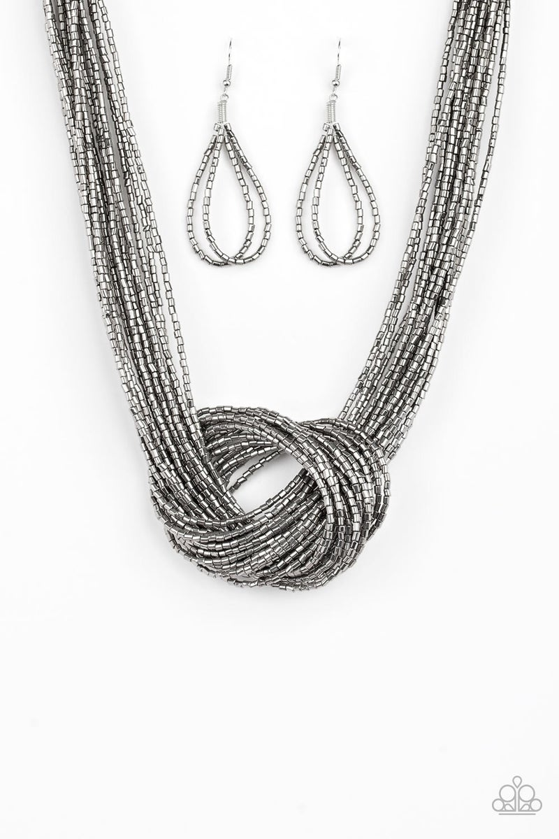 Knotted Knockout - Gunmetal
