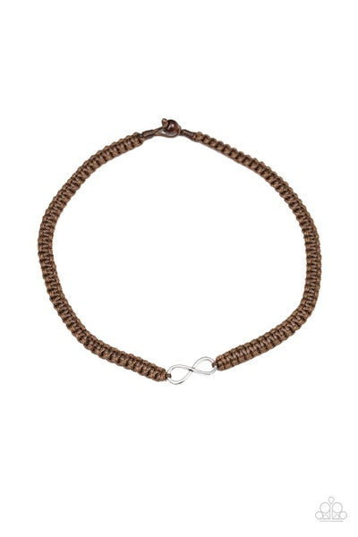 Right On MARITIME - Brown Necklace