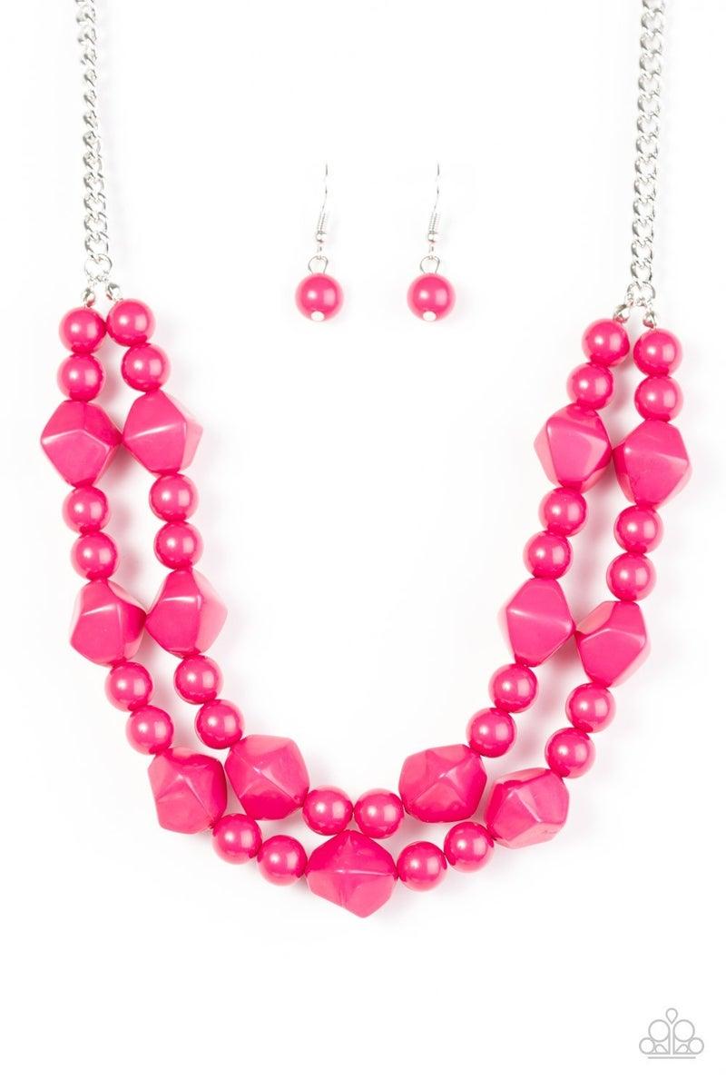 Galapagos Glam - Pink Necklace