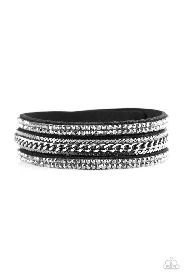 Unstoppable - Black bracelet