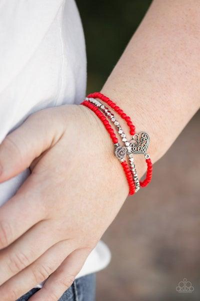 Lovers Loot - Red Bracelet