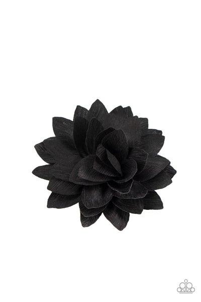 Summer Is In The Air - Black Hair Clip