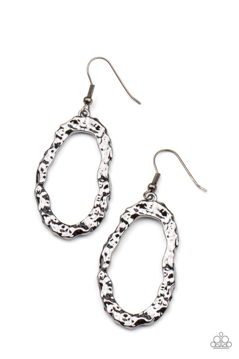 ARTIFACT Checker - Black Earring