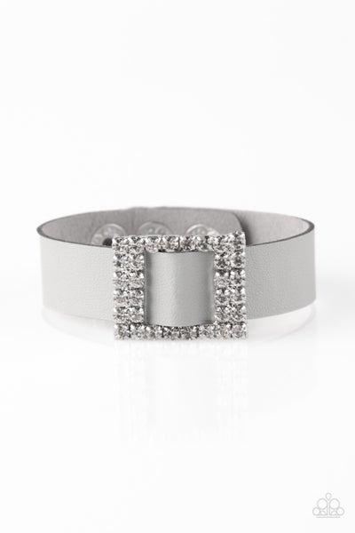 Diamond Diva - Silver Bracelet