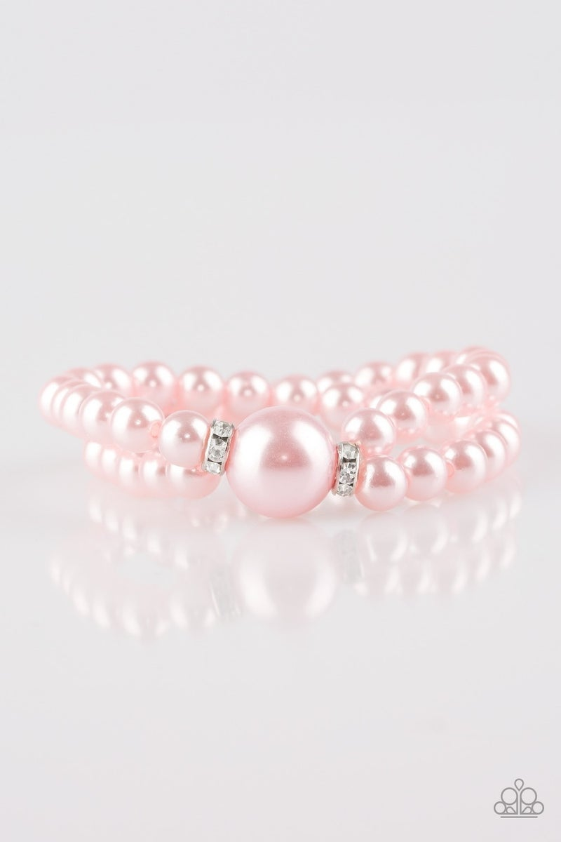 Romantic Redux - Pink Bracelet