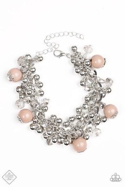 Pretty In Posh - Brown Bracelet