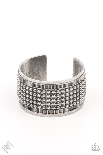 Bronco Bust - Silver Bracelet