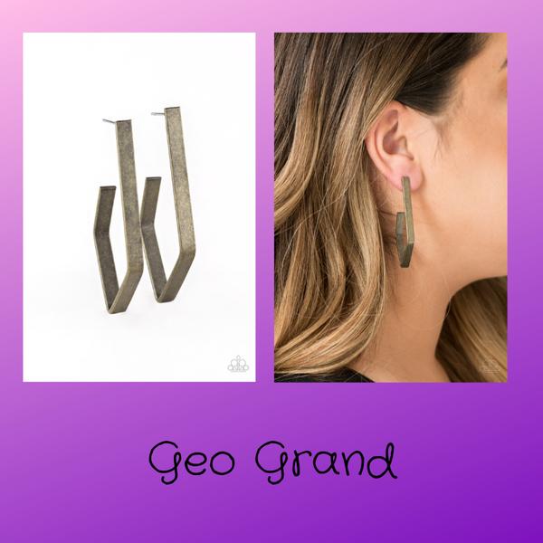 Geo Grand - Brass