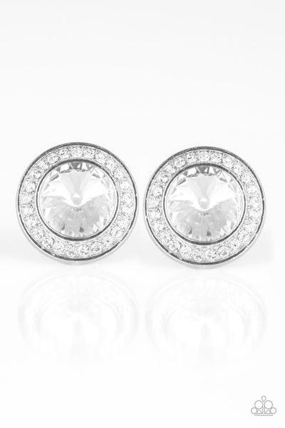 What Should I BLING? - White Earring