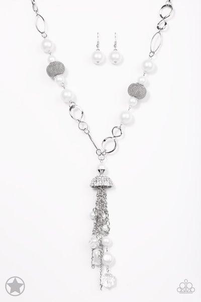 Designated Diva - White Necklace