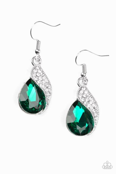 Easy Elegance - Green Earring