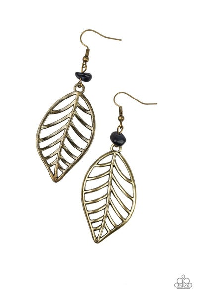 BOUGH Out - Brass Earring