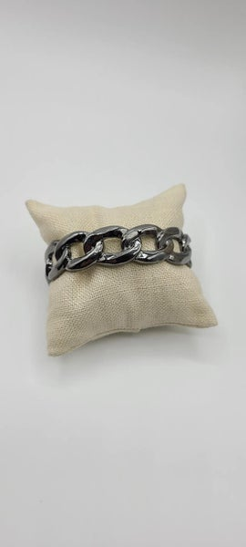 Living off the GRIT - Gunmetal Bracelet