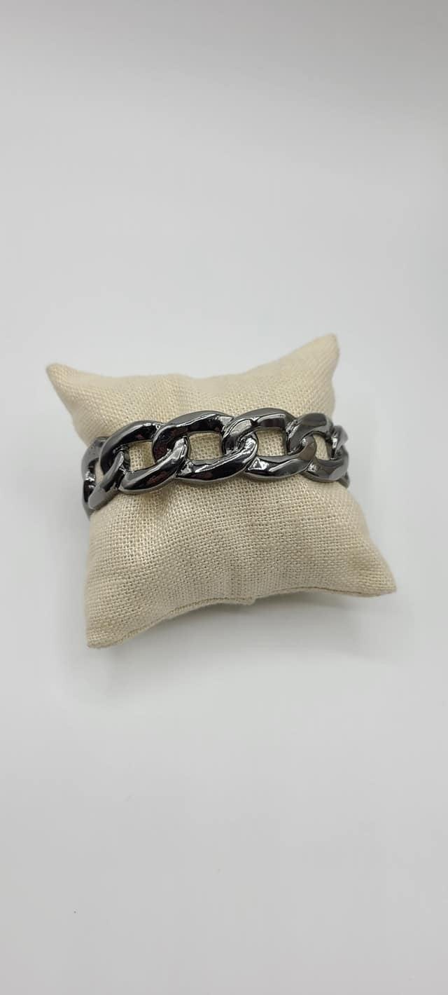 Living off the GRIT - Gunmetal Bracelet