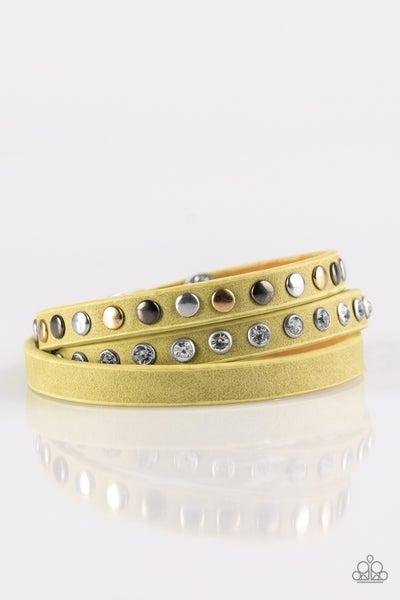 Catwalk Casual - Green Bracelet