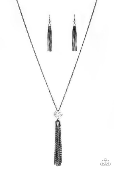 Five-Alarm FIREWORK - Black Necklace