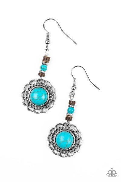 Desert Bliss - Blue Earring