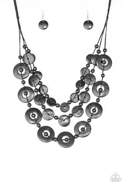 Catalina Coastin - Black Necklace