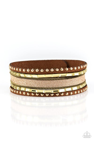 Seize The Sass - Brass Bracelet