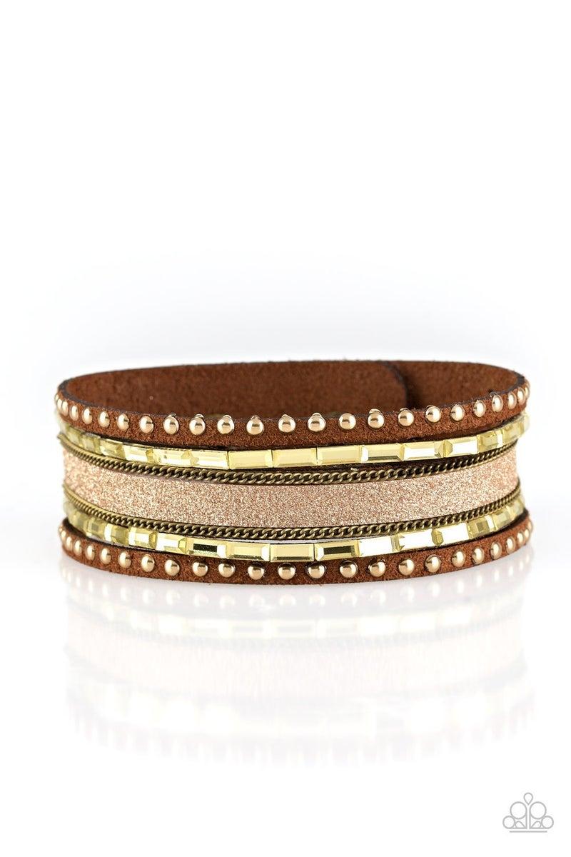 Seize The Sass - Brass Bracelet