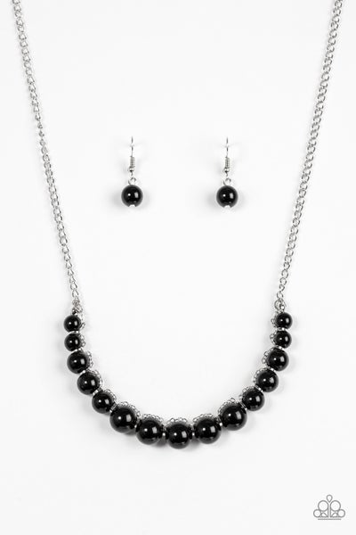 The FASHION Show Must Go On! - Black Necklace