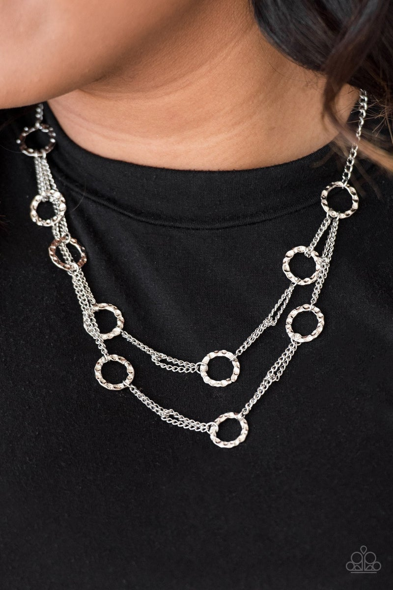 Circus Couture - Silver Necklace