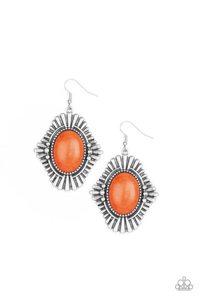 Easy As PIONEER - orange earring