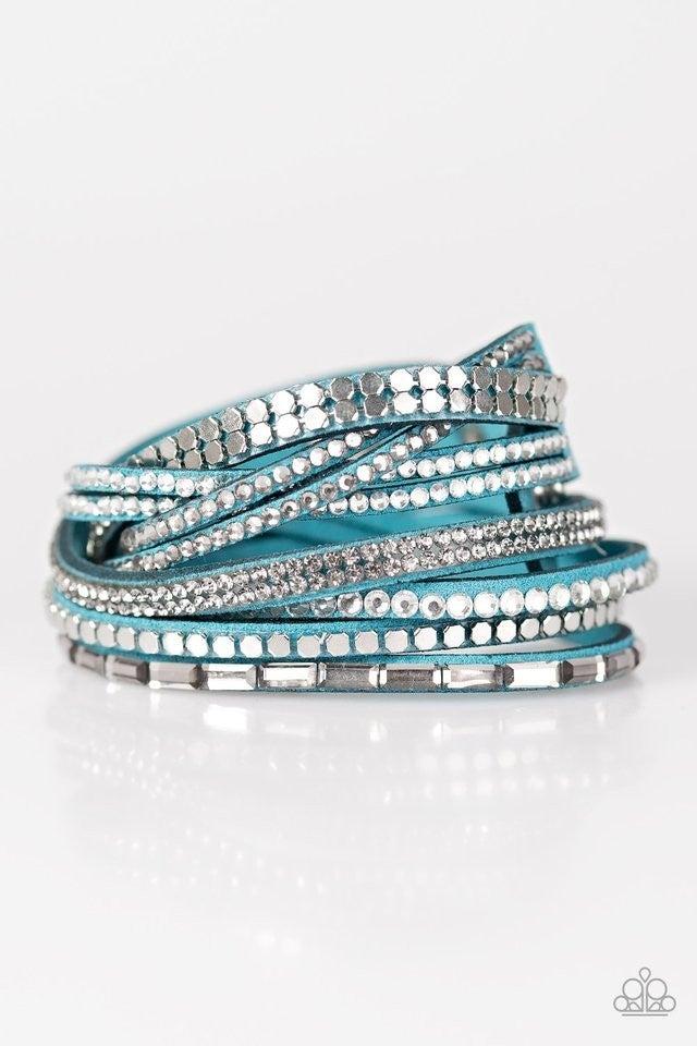 I Came To Slay - Blue Bracelet