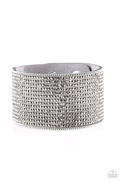 Glitter Gossip - Silver Bracelet