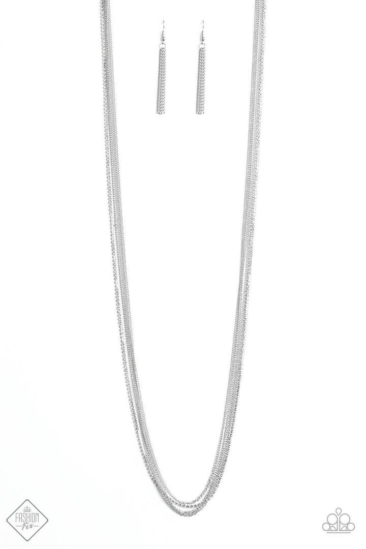SLEEK and Destroy - Silver Necklace