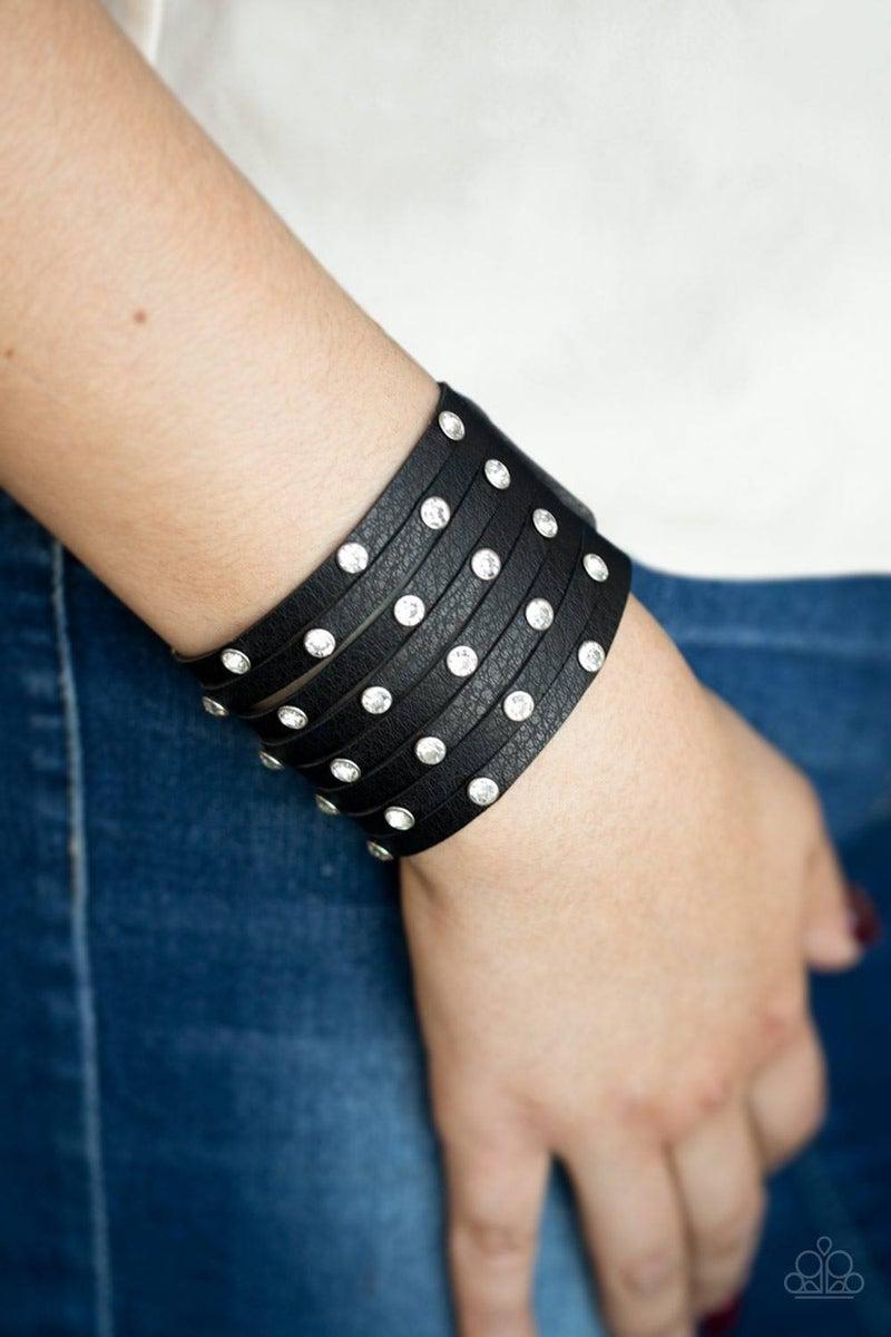 Sass Squad - Black Bracelet