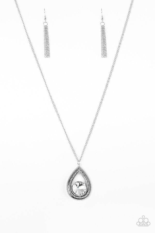 Castle Cabaret - White Necklace