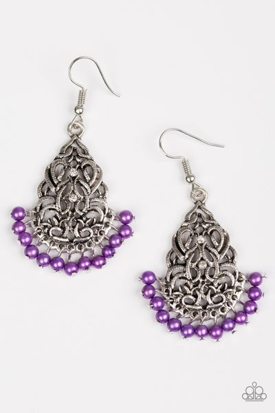 BAROQUE The Bank - Purple Earring