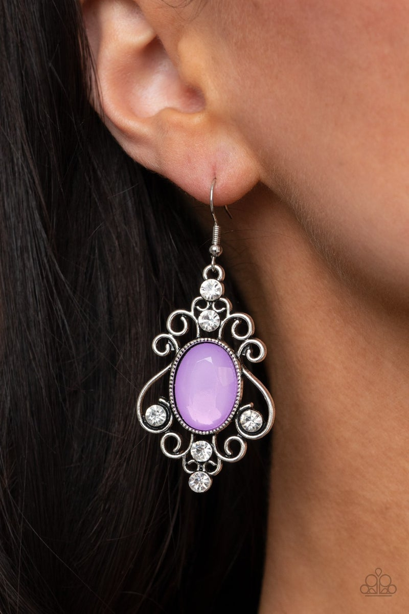 Tour de Fairytale - Purple Earring