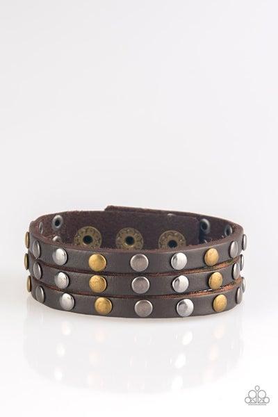 Rural Rider - Brown Bracelet